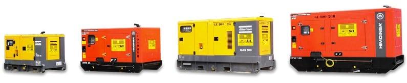 Flotte de générateurs (Locasix)