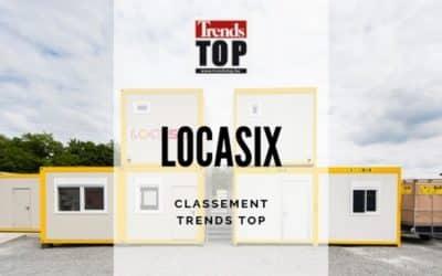 Locasix figure au classement Trends Top !