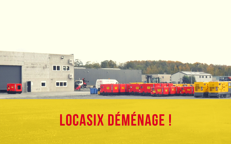 Locasix déménage à Saint Ghislain