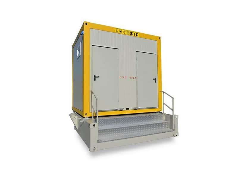 Nouveau module sanitaire Locasix sans raccord aux égouts