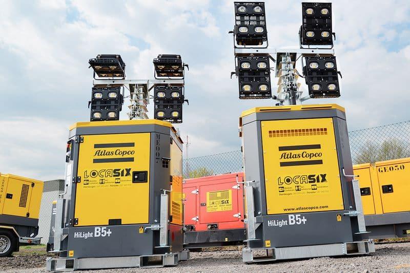 Nouveauté Locasix: Groupes électrogènes d'éclairage en location