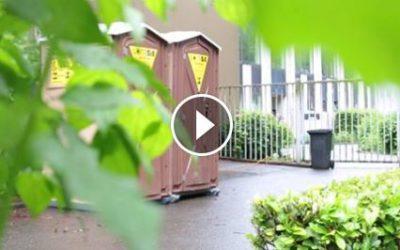 Locasix piège Vinz (Fun Radio) avec ses WC chimiques
