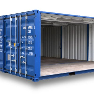 Container de stockage assemblage