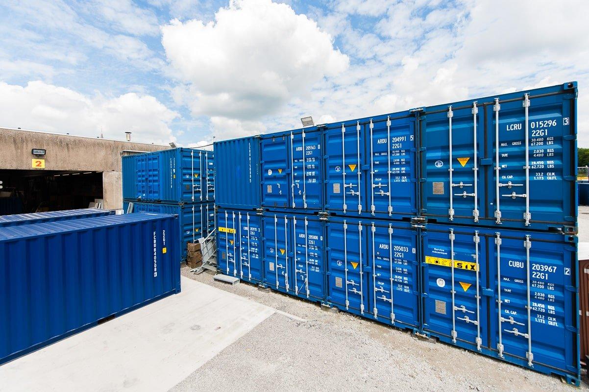 Location de containers de stockage
