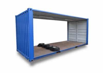 Locasix: location de container de stockage GA