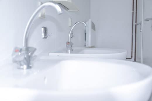 Location de module de douche avec Locasix