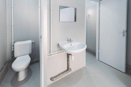 Location de module sanitaire - Locasix