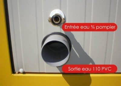 Module de douche - Raccord du CD4