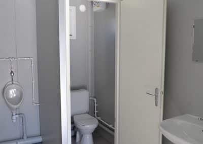 Vue intérieure du module sanitaire autonome ASHFK