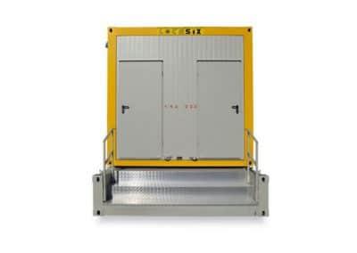 Module sanitaire autonome CS2 CUK2 - Vue de face