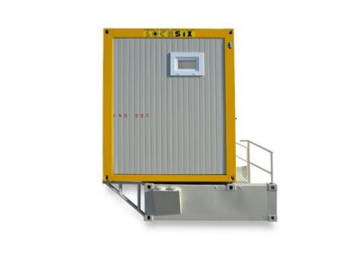 Module sanitaire autonome CS2 CUK2 - Vue latérale