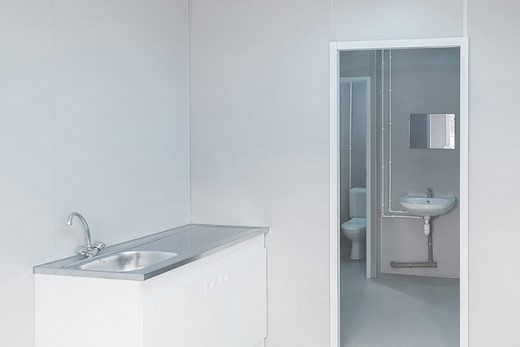 Location de module sanitaire combiné toilettes - Locasix