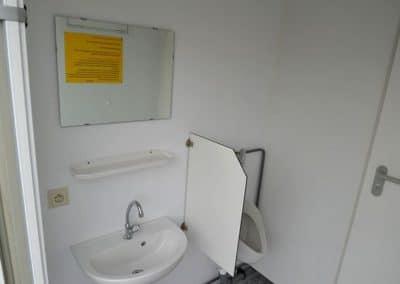 Vue intérieure du module sanitaire CS2