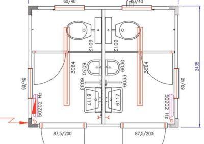 Plan du module sanitaire CS2