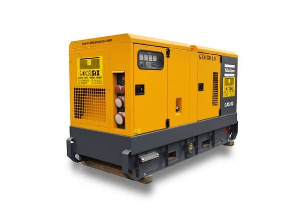 Locasix - générateur en location / ATLAS COPCO 80 KVA