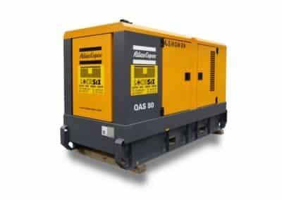 Générateur à louer de marque ATLAS COPCO 80 kva