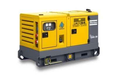Groupe électrogène (générateur) Atlas Copco 20 kva
