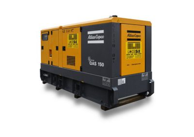 Locasix - Générateur Atlas Copco QAS 150 kva