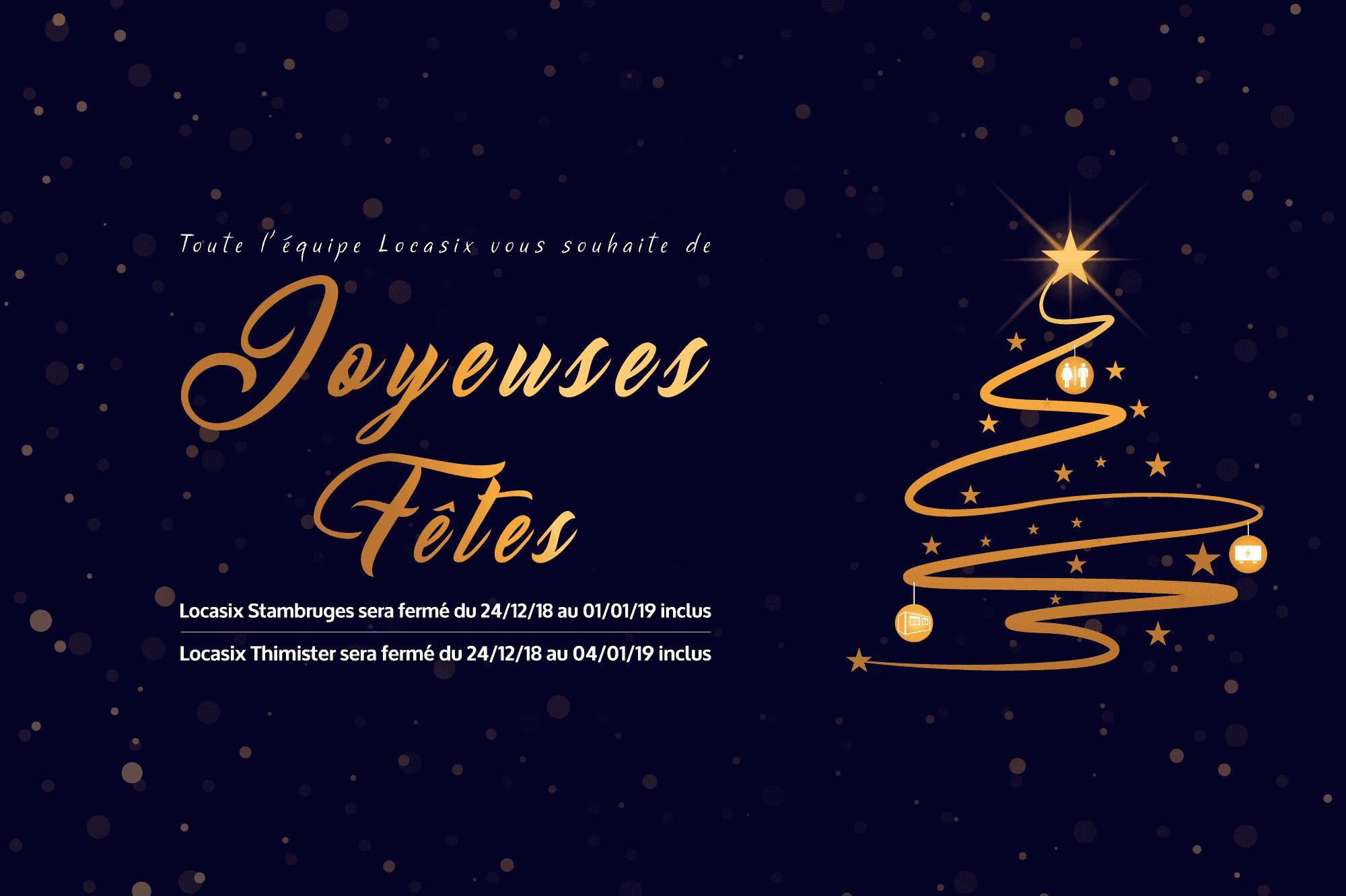 Locasix vous souhaite de joyeuses fêtes