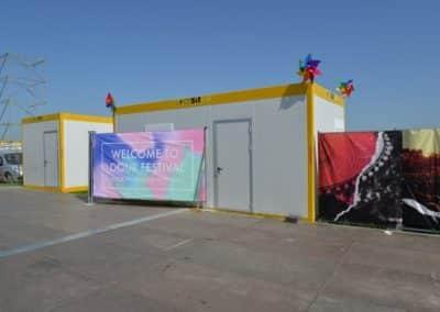 Containers Locasix pour Dour