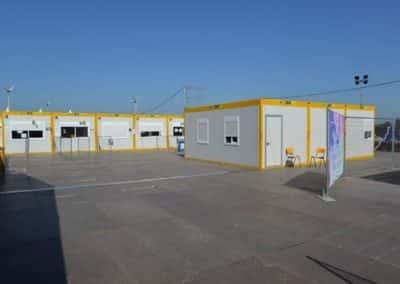 Location de containers de bureau pour Dour