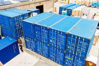 Containers de stockage d'occasion